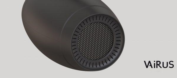 Luchtreiniger Vairus reinigt vieze lucht met fotokatalyse technologie