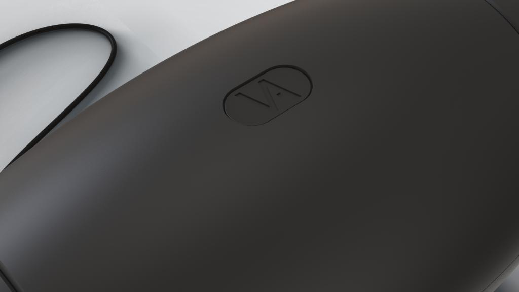 Touch button op luchtreiniger Vairus staande versie