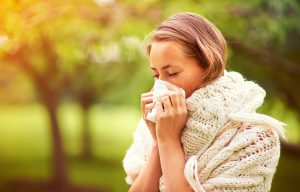 Luchtreiniger Vairus haalt pollen uit de lucht